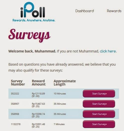 Tips Survey Online
