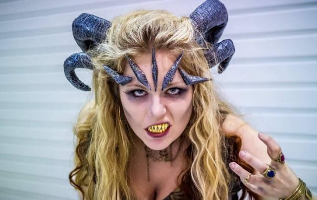 maquillaje de demonio Aceptar