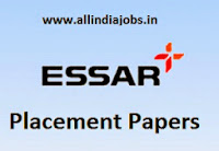 Essar Placement Papers
