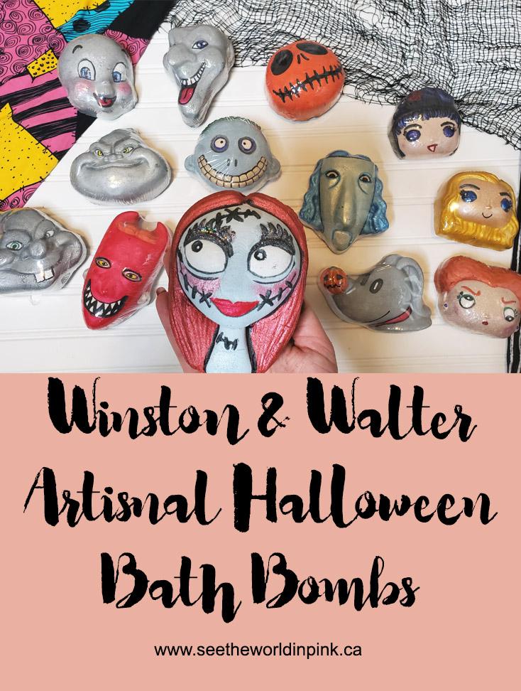Winston & Walter Artisanal Halloween Bath Bombs
