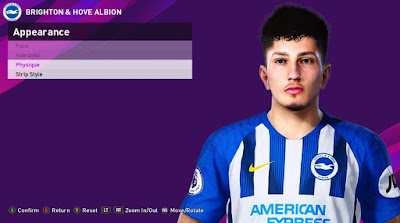 PES 2020 Faces Steven Alzate by Rachmad ABs
