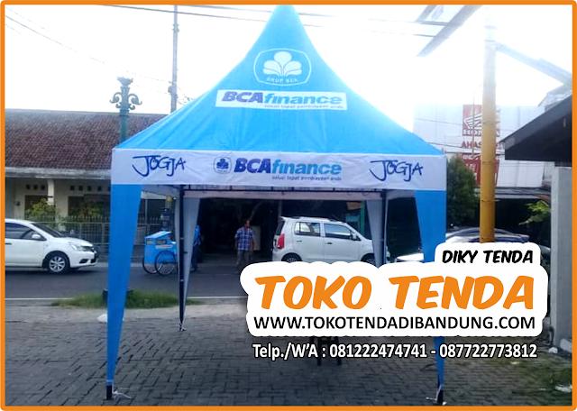Tenda - Kerucut - Branding - Promosi