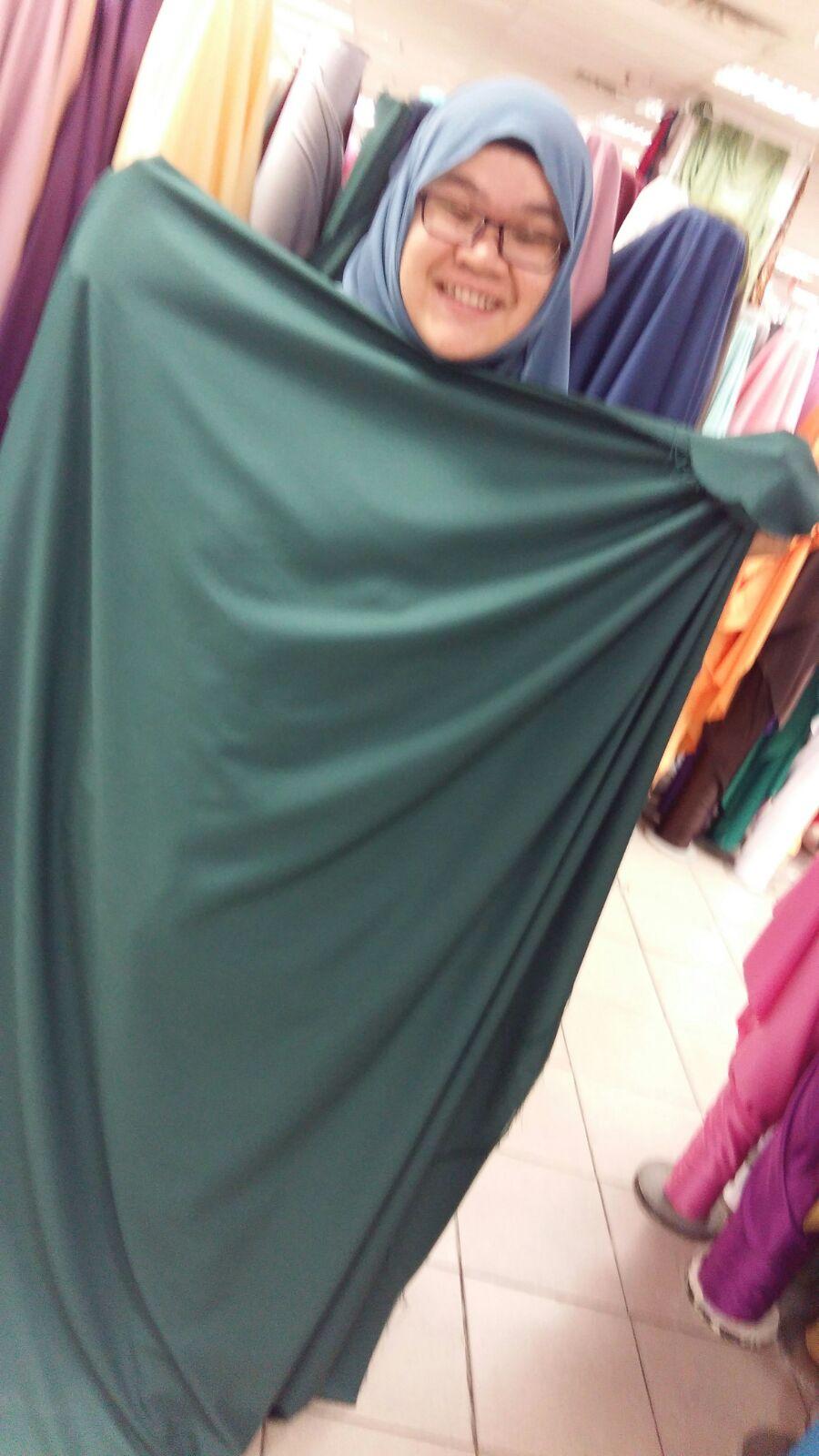 Emerald hijau kupang penat woi cari kain Glaucous yasmin