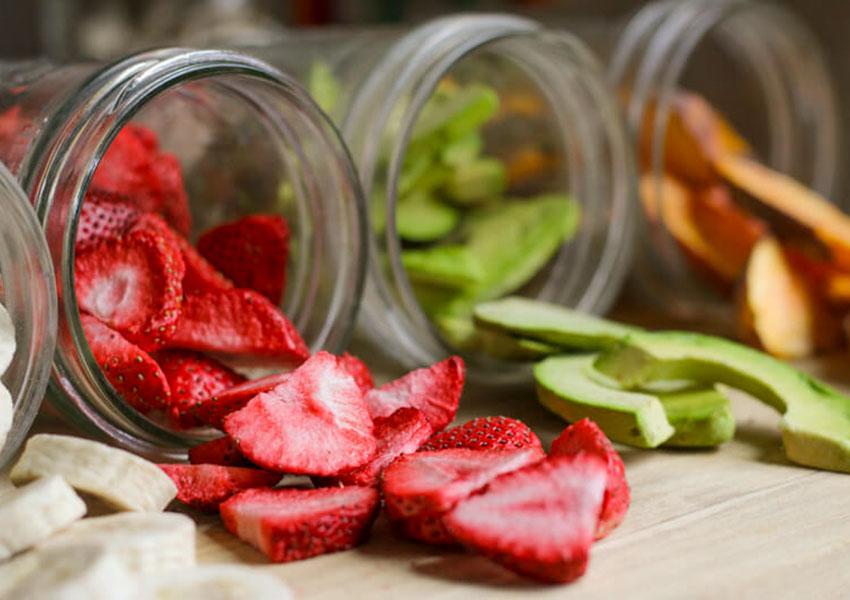 La liofilización es muy importante en la industria de alimentos