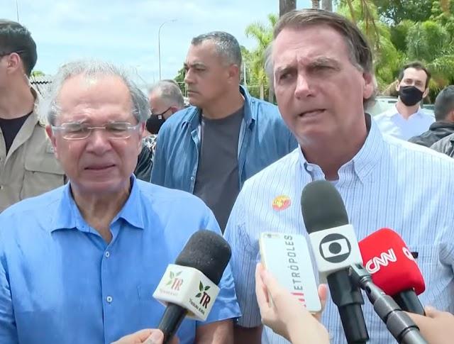 Bolsonaro afirma que não vai interferir em preços para conter alta dos combustíveis