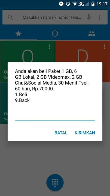 paket kuota internet combo telkomsel murah terbaru