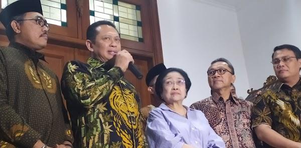 Ini Isi Pertemuan Pimpinan MPR Dan Megawati