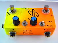 dpFX NEMESIS Guitar Fuzz/distortion, dual gain, high gain (Νέμεσις