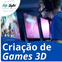 Curso Criação de Games 3D Completo - COMBO