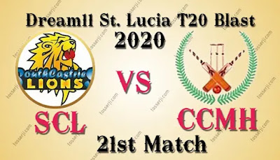 Who will win SCL vs CCMH 21st T10 Match