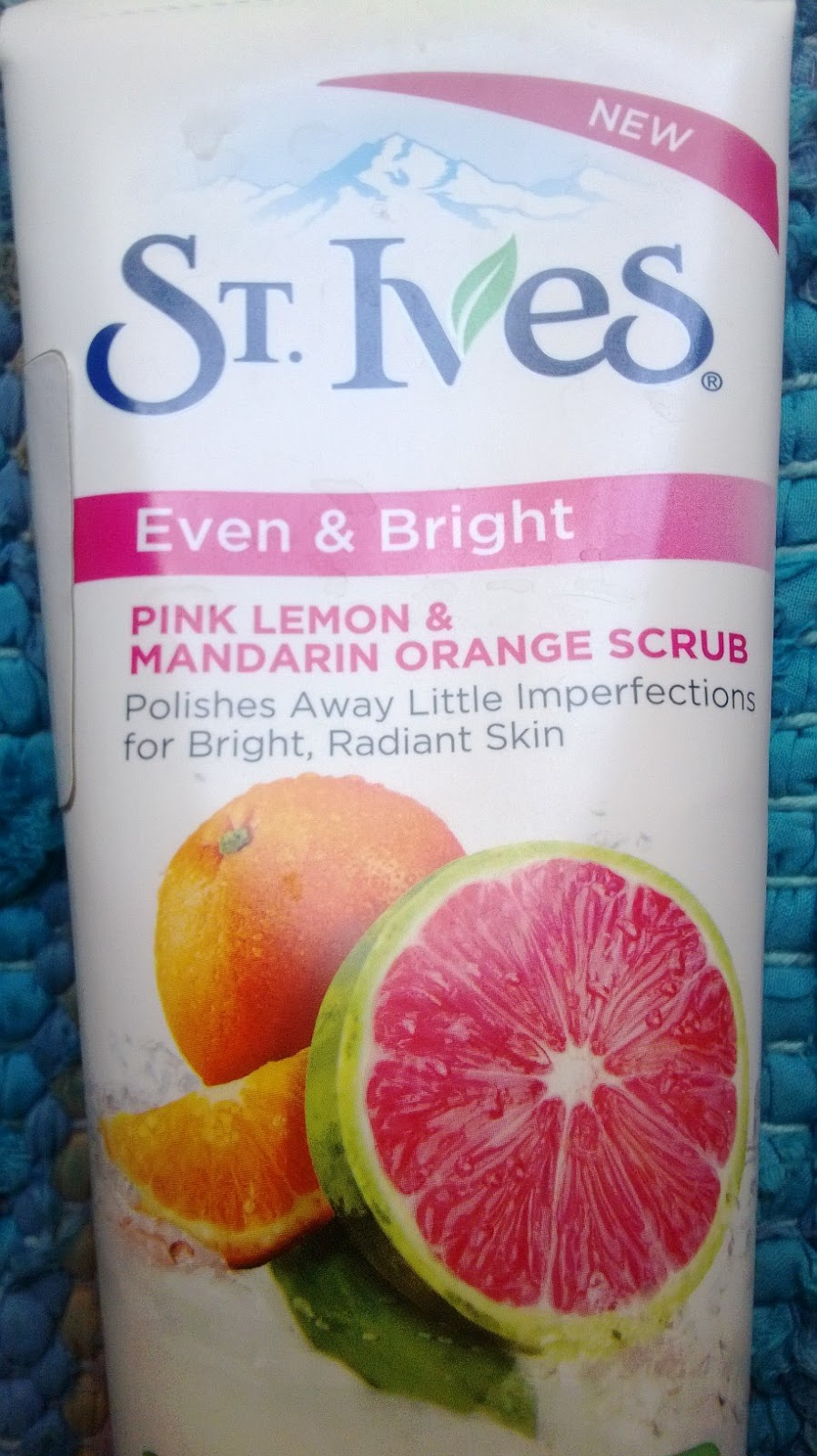 St. Ives Even and Bright Pink Lemon and Mandarin Orange Scrub Review