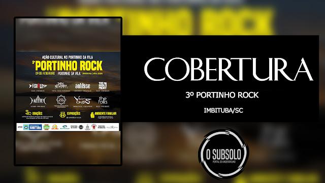 O SUBSOLO | COBERTURA | 3º PORTINHO ROCK