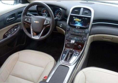 2016 Chevrolet Malibu 2.0T Interior