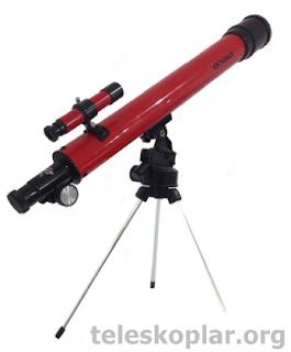 tasco speciality 50/50 teleskop incelemesi
