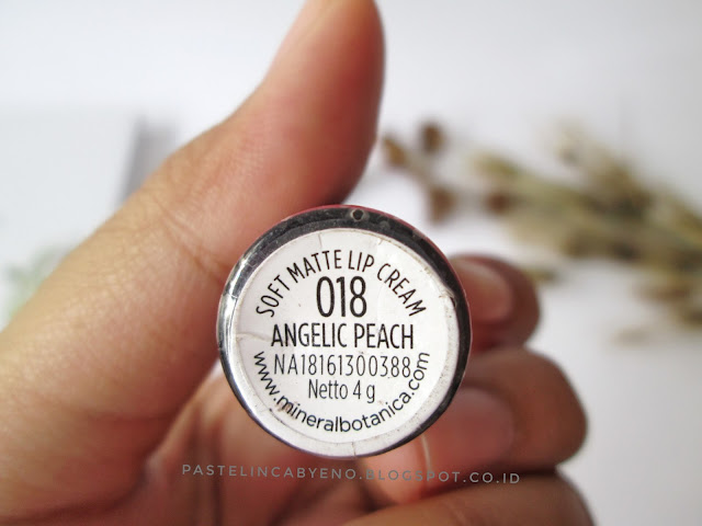Mineral Botanica Soft Matte Lip Cream 018 Chocho Pumpkin & 019 Angelic Peach