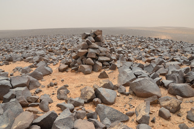 Hundreds of 4,000 year old stone 'tower' tombs found in Jordan's Dead Fire desert