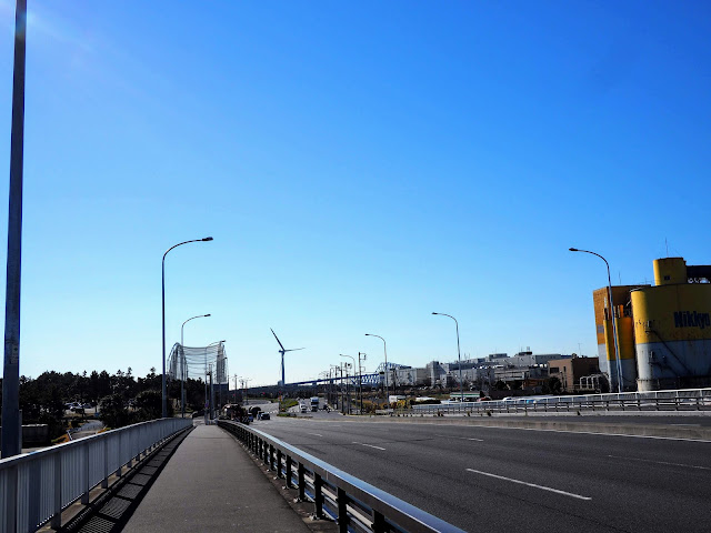 砂町南運河 若洲橋