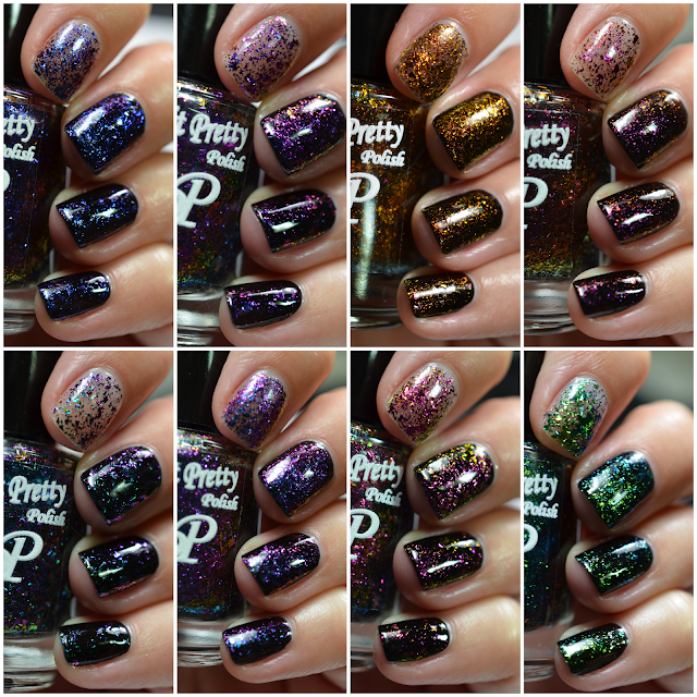Paint It Pretty Polish Fall Toppers Swatches