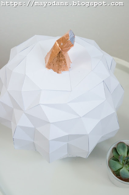 Papershape Kürbis