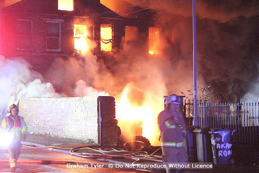 Early morning 15 pump blaze second at same location in Bradford
