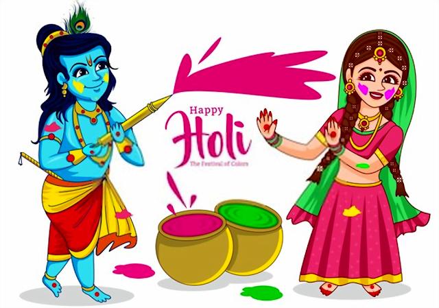 Happy Holi wish picture 2020