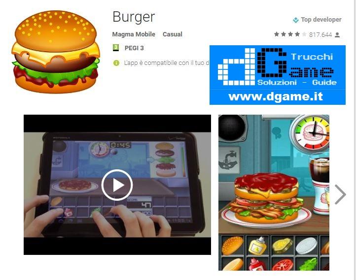 Trucchi Burger Mod Apk Android v1.0.15
