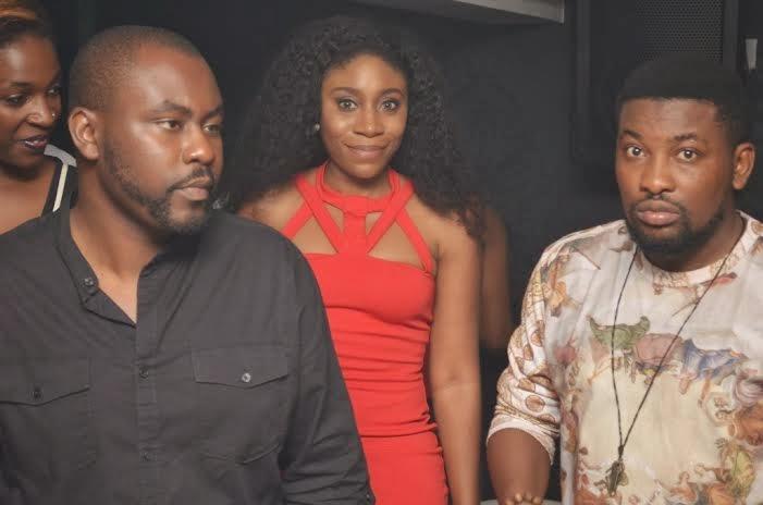 3 Photos: Ramsey, Kcee, Timaya, Iyanya, Sound Sultan storm The Place Bar