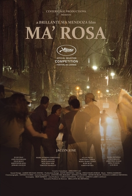 Ma' Rosa (2016) is a Filipino drama film directed by Brillante Mendoza in 2016. The film is starred by Jaclyn Jose, Andi Eigenmann, Jomari Angeles, Julio Diaz, Maria Isabel Lopez, Mercedes Cabral, Mon Confiado, Mark Anthony Fernandez, Neil Ryan Sese, Baron Geisler, Felix Roco and others. The film wins Cannes Best Actress Award. It was also selected at the 89th Academy Awards for Best Foreign Language Film. Jaclyn Jose wins Award at the Cannes Film Festival in 2016 for the Best Actress. The film is about Rosa and Nestor are caught by corrupt cops for selling drugs. The husband-wife have four children. Their Sari sari store cannot support their big family. So, They sells drugs 'ice' or 'crystal meth' to earn more income to support their family. But corrupt cops arrest Rosa and Nestor and want 'bail money' to release them. The four children collect money from their own way with struggles and free their parents. In the film 'Ma' Rosa' (2016), handheld camera has been used to to create it more dramatic. Besides, its background sound, overall editing is so realistic that it seems it is related to realism film.   Watch the official trailer if the Filipino film Ma' Rosa (2016) here... Torrent Download:      Download the movie
