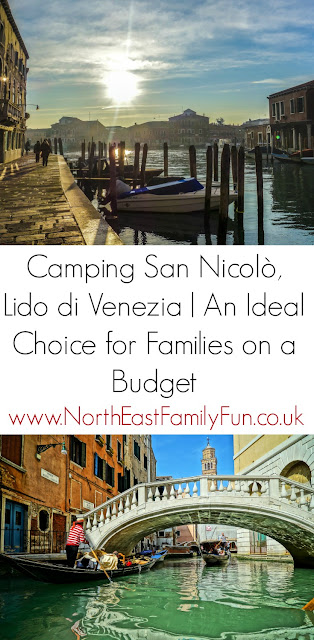 Camping San Nicolò - How to stay in Venice on a budget. The best located  family campsite in the Lido di Venezia area