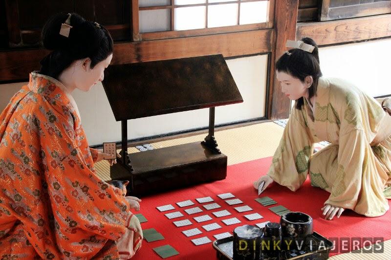 Diorama de la princesa Sen en el Hyakken Roka