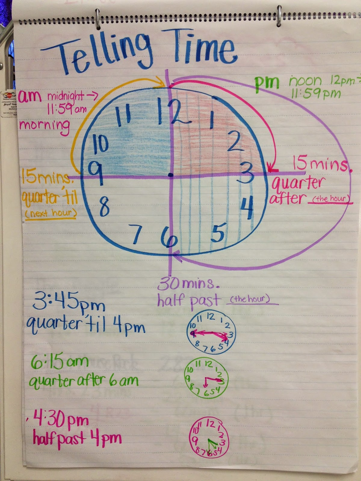 3 Teacher Chicks Elapsed Time Freebies