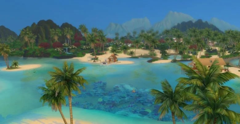 How to modify the island in The Sims 4: Island Life