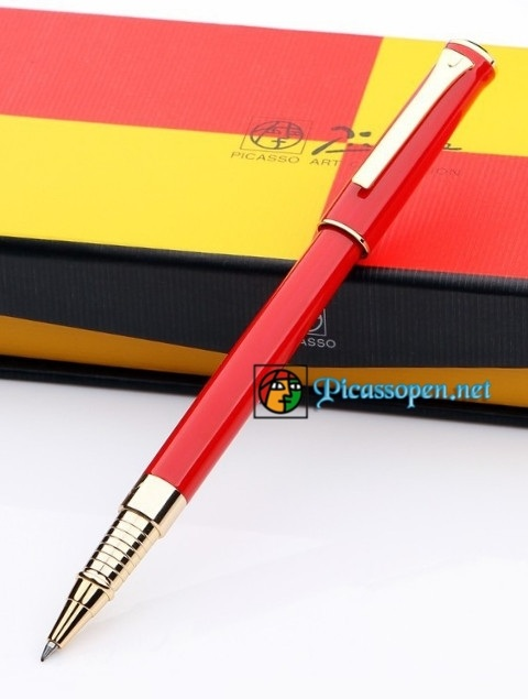Bút ký cao cấp Picasso 988 màu đỏ