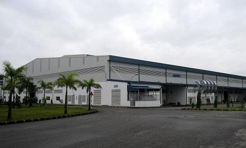Lắp đặt máy giặt công nghiệp cho nhà máy ở Vĩnh Phúc