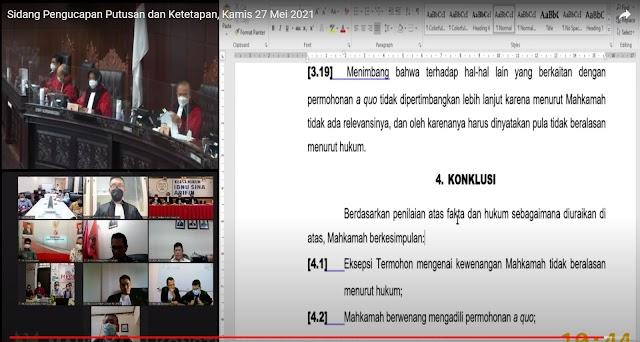Gugatan Nanda Kandas!  MK Perintahkan KPU Banjarmasin Tetapkan Calon Walikota dan Wakil Walikota Terpilih