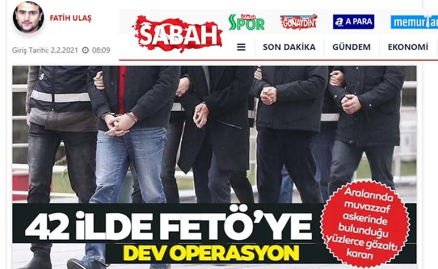 Τουρκία: Εκατοντάδες συλλήψεις στρατιωτικών σε 42 επαρχίες