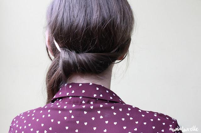 idées coiffures avec un headband à fleurs