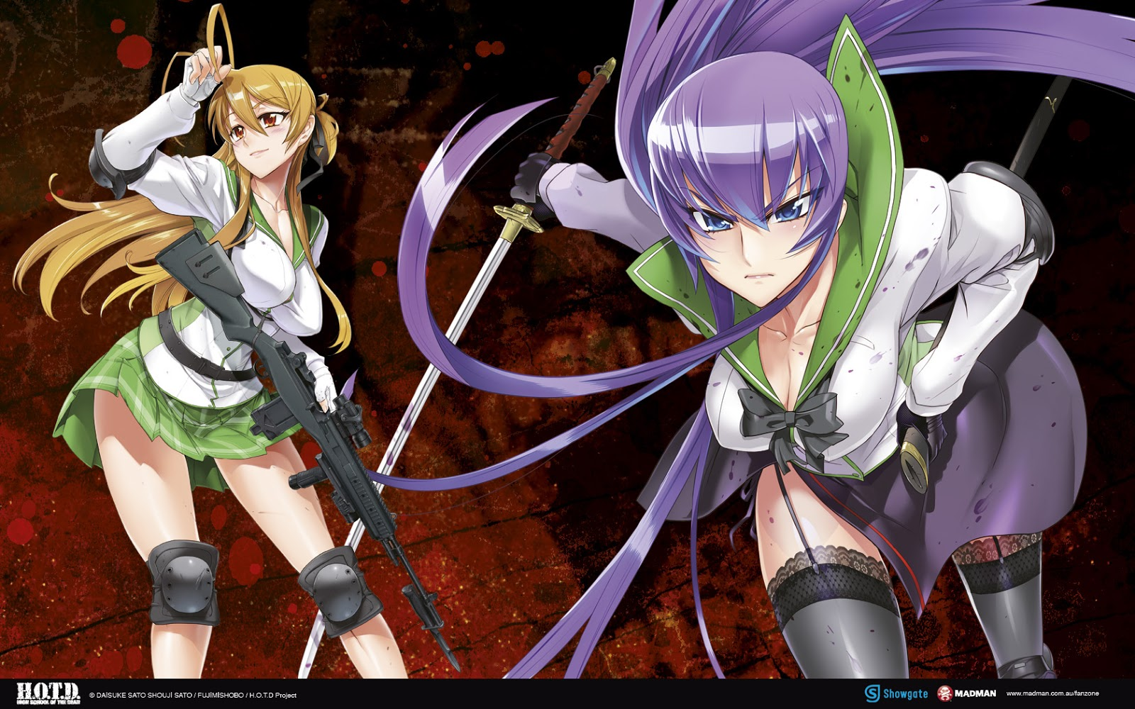 Highschool Of The dead season 2
