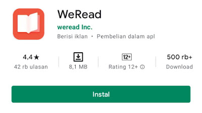 Aplikasi Weread
