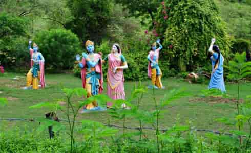 Kanak varindavan gardan -Kanak ghati  jaipur tourist place in rajasthan
