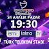 Galatasaray - Göztepe Maçı İlk 11'ler