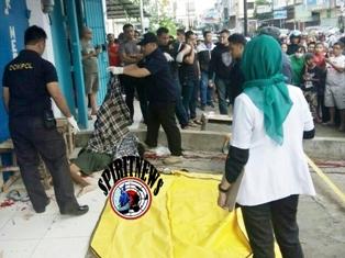 AKP Edy Sabhara Manggabarani,Bersama Anggota Polsek Ujung Pandang Amankan Pelaku Pembunuhan Sadis