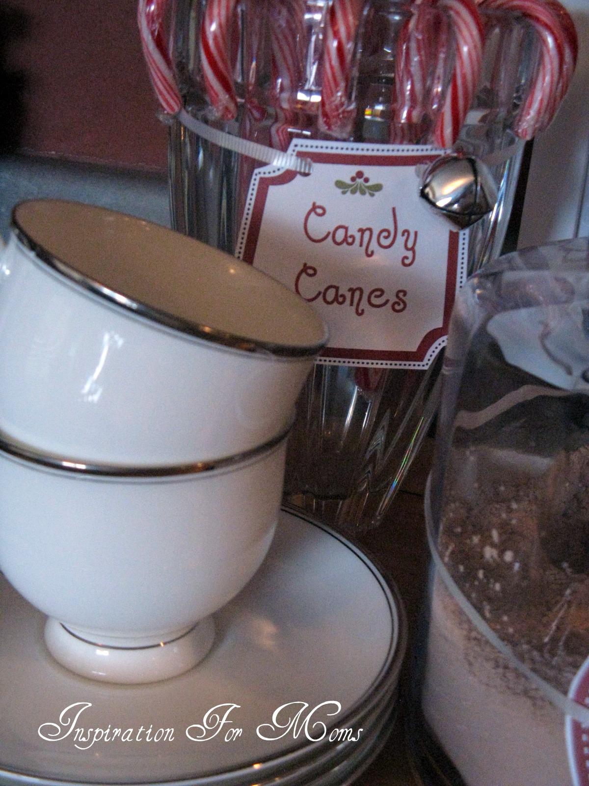 Diy Decorative Hot Chocolate Station