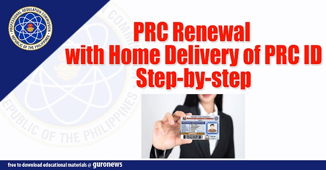 PRC Renewal with Home Delivery of PRC ID