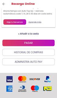 pagar recarga digicel con paypal