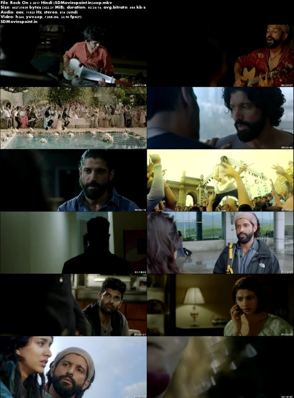 Screen Shots Rock On 2 (2016) Full Hindi Movie Download in HD 480p