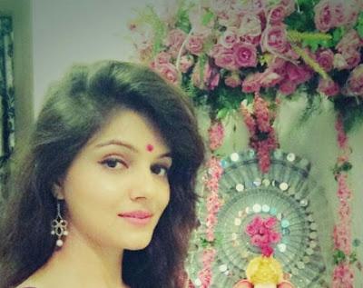 selfie ganpati photo