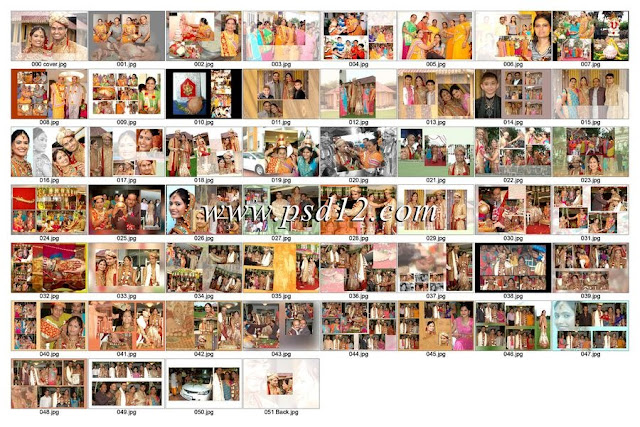 European Wedding Photo Book Design