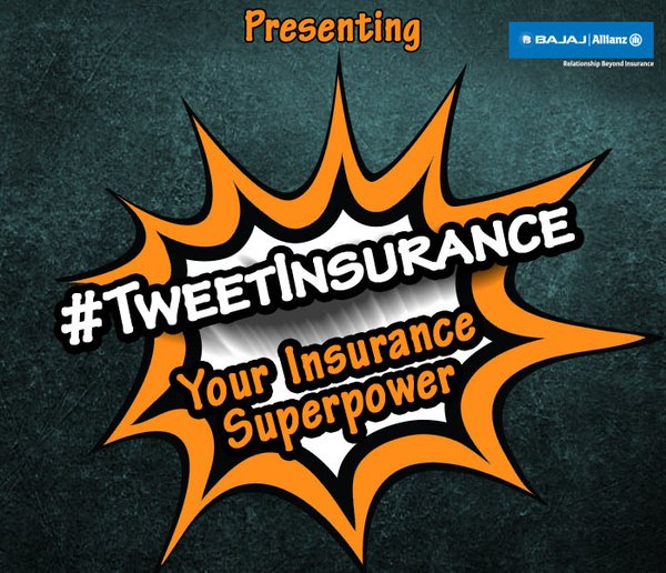 @BajajAllianz General Insurance launches #TweetInsurance #thelifesway #photoyatra