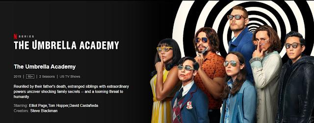 The Umbrella Academy Web Series